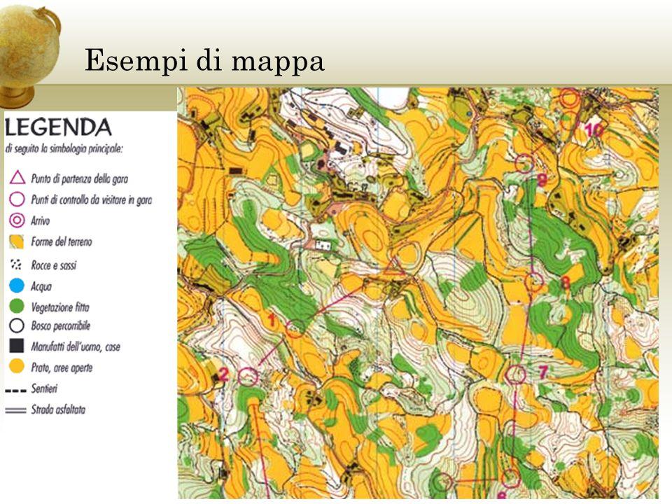 Esempi di mappa