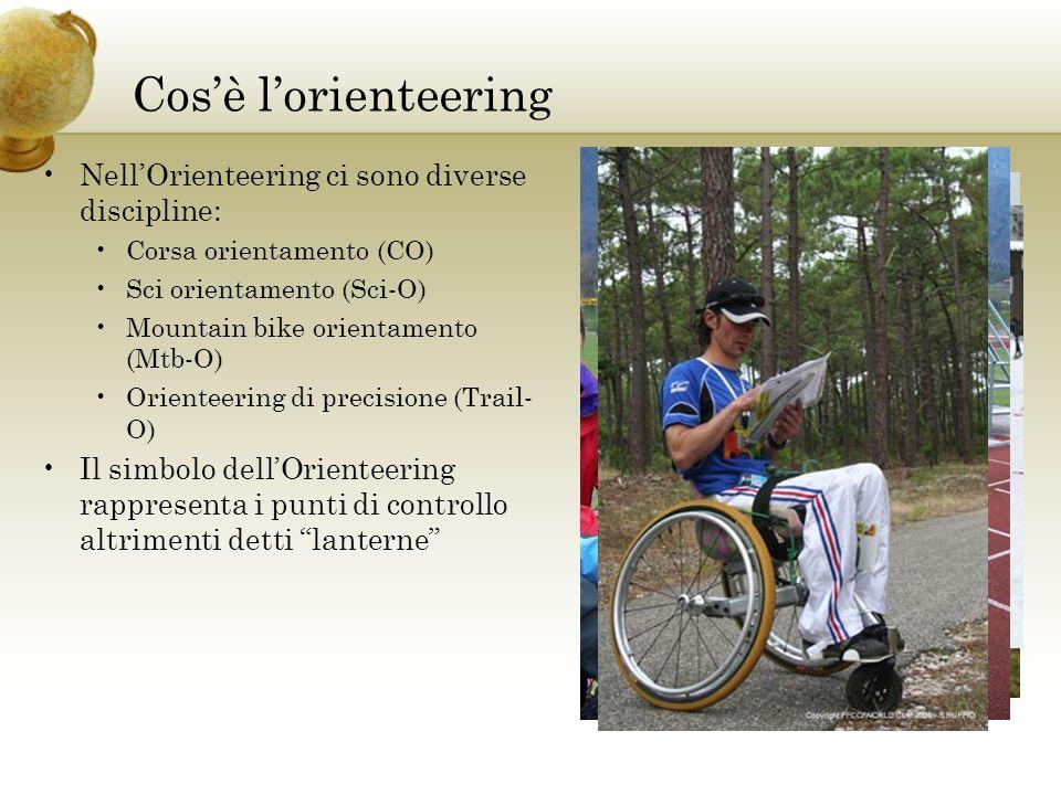 Cosè lorienteering NellOrienteering ci sono diverse discipline: Corsa orientamento (CO) Sci orientamento (Sci-O) Mountain bike orientamento (Mtb-O) Or