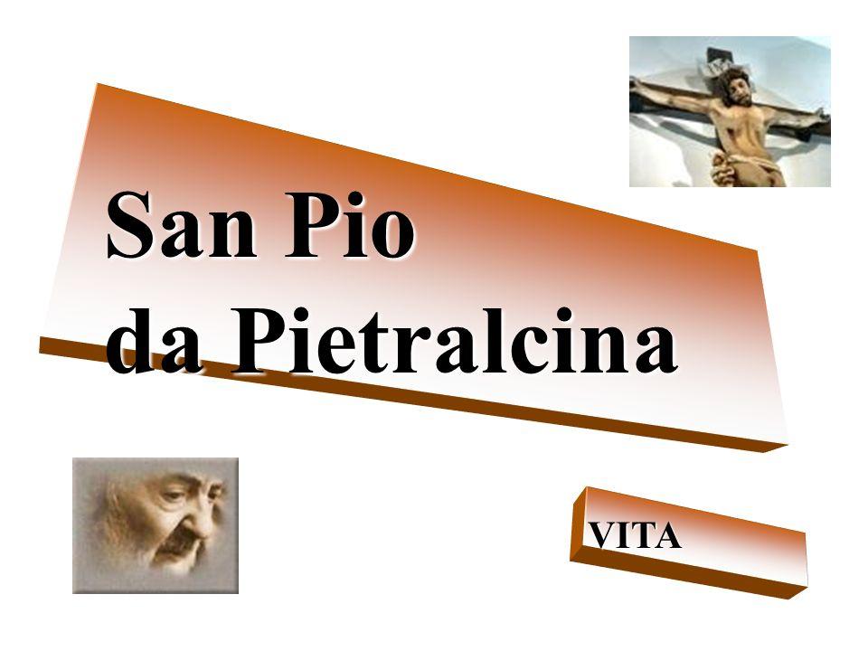 San Pio da Pietralcina VITA