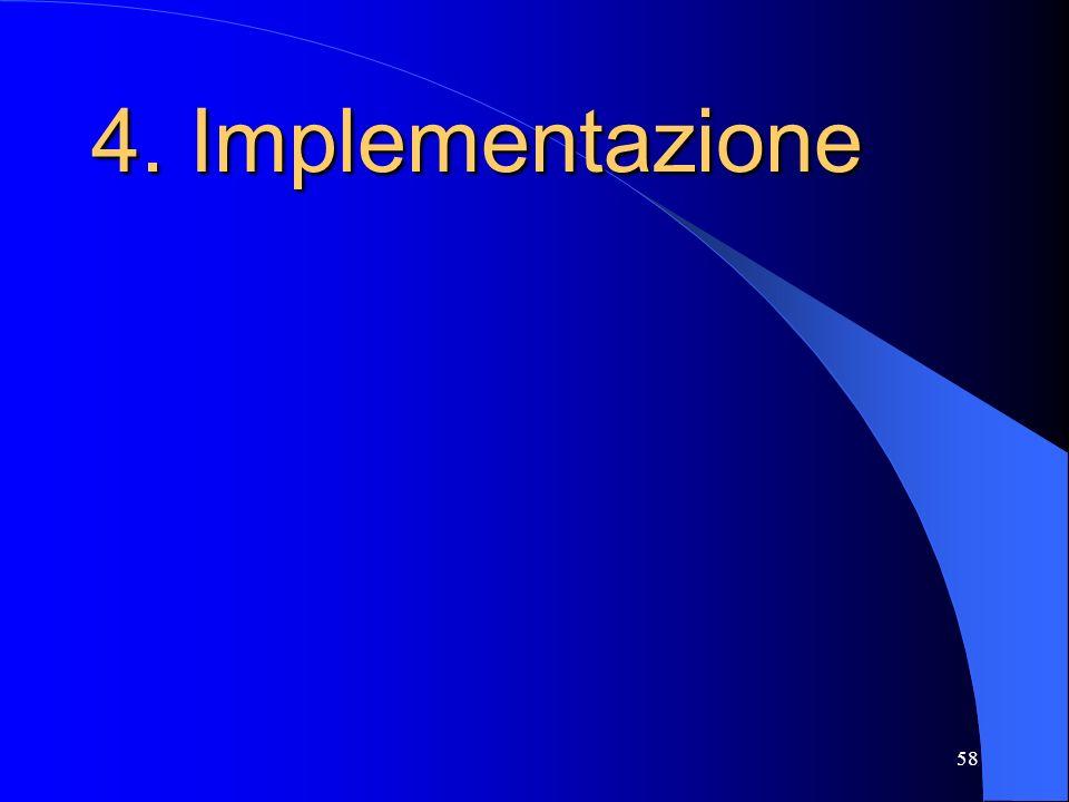 58 4.Implementazione