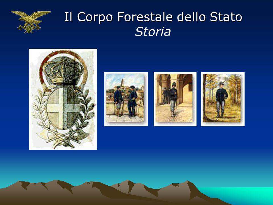 Il Corpo Forestale dello Stato Storia