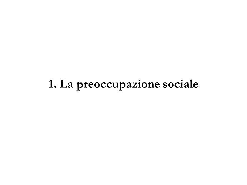 1. La preoccupazione sociale