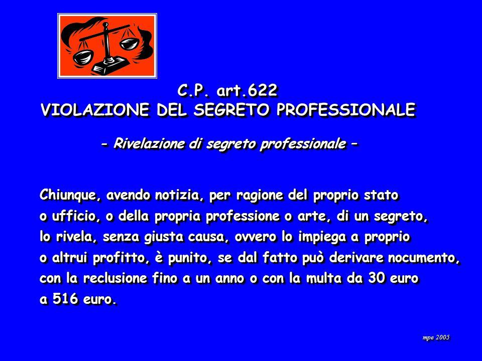 mpe 2005 C.P.