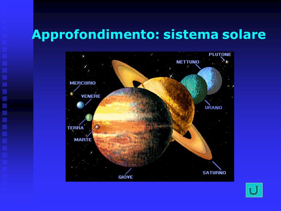 Il sistema solare La Terra, il pianeta sul quale viviamo, ruota attorno ad una stella, il Sole, che la illumina e la riscalda. Attorno al Sole ruotano