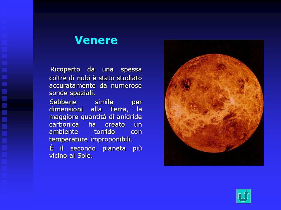 Nettuno Nel 1990 la sonda Voyager dopo un viaggio di 12 anni ha raggiunto Nettuno.