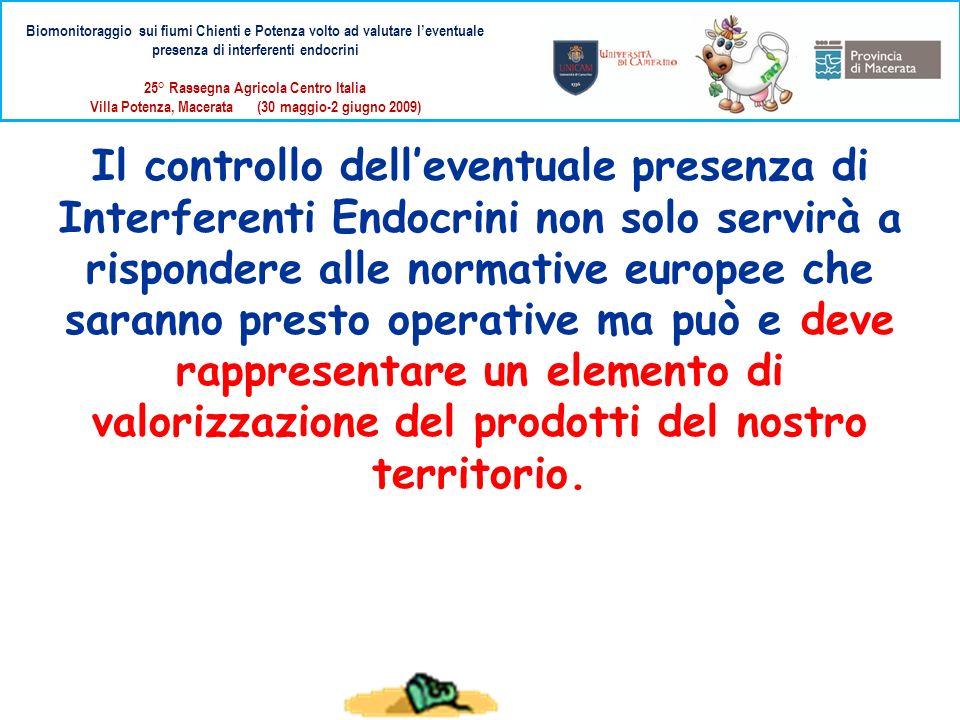 Il controllo delleventuale presenza di Interferenti Endocrini non solo servirà a rispondere alle normative europee che saranno presto operative ma può