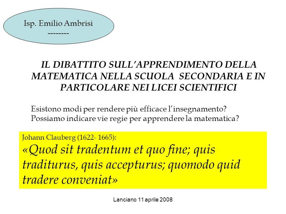 E naturale che i docenti devono essere posti nella condizione di essere buoni: 1.buono il riconoscimento sociale della funzione docente 2.buone le prospettive di carriera 3.