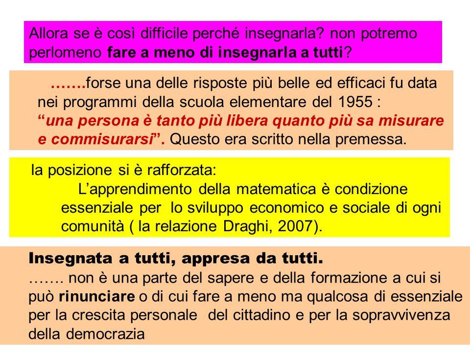 INDAGINE OCSE – PISA INDAGINE OCSE – PISA – Competenze dei quindicenni Posizione dell Italia anni 2000 2003 2006 LETTURA 20° 26° 33° MATEMATICA 23° 26° 38° SCIENZE 22° 22° 36°