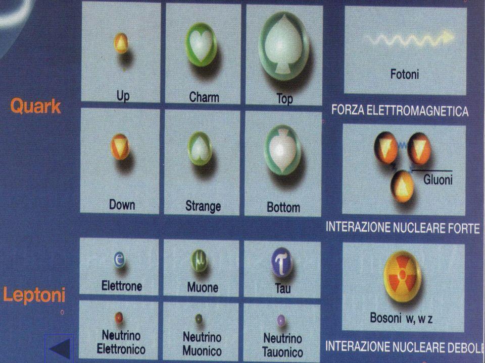 LINTERAZIONE FORTE ( NUCLEARE) La forza nucleare ha un raggio di azione piuttosto limitato (10 -15 m ) oltre il quale diventa trascurabile.