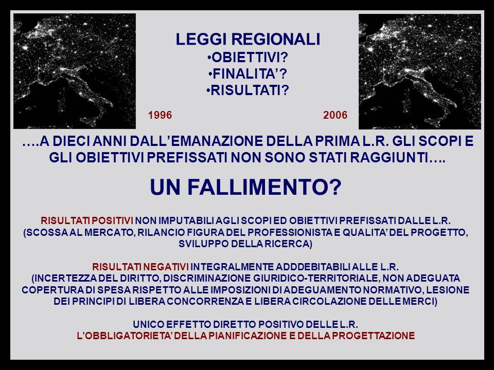 Studio Legale Loro & Partners FINALITA DICHIARATE DELLE LEGGI REGIONALI LEGGE REGIONALE VENETO N.