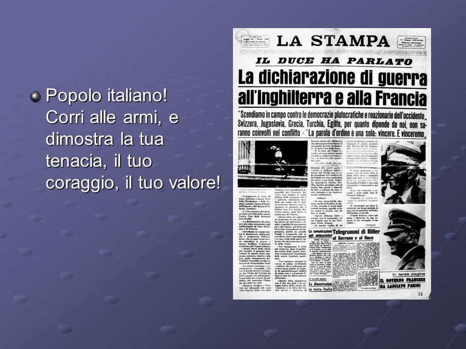 L Italia, proletaria e fascista, è per la terza volta in piedi, forte, fiera e compatta come non mai.