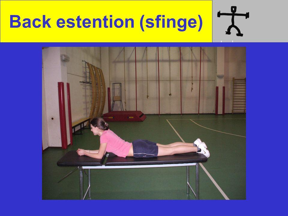 Back estention (sfinge)