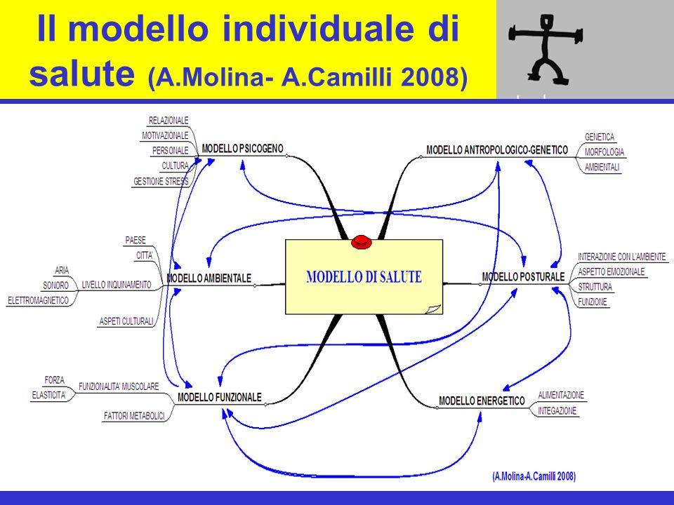 Il modello individuale di salute (A.Molina- A.Camilli 2008)