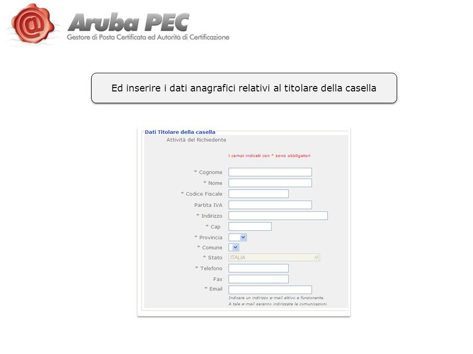 Ultimi step previsti: Accettazione contratti Inserimento dati fatturazione Scelta modalità pagamento 1 2 3