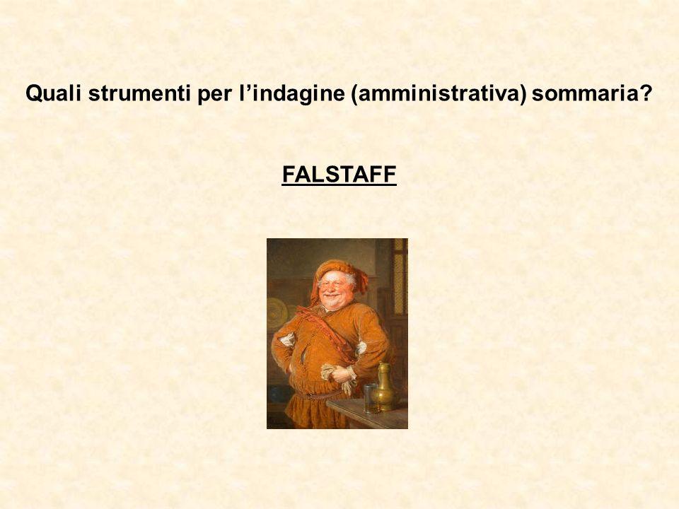FALSTAFF (banca dati) Banca dati multimediale dei prodotti «autentici» inserita nel sistema informativo AIDA (Automazione Integrata Dogane e Accise) dellAgenzia delle Dogane.