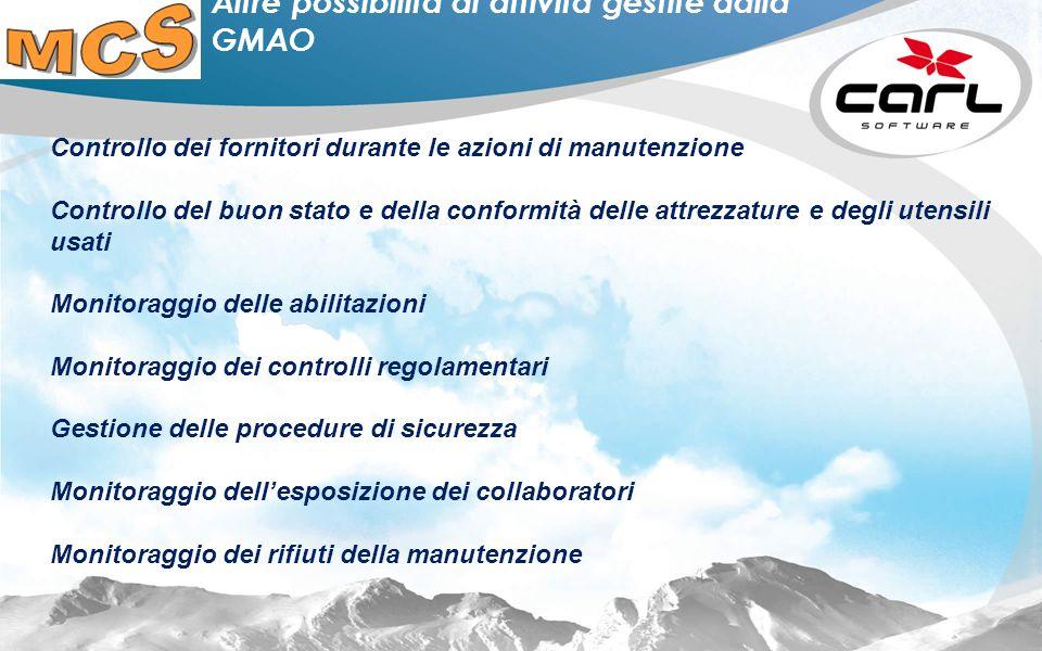 11 In cosa la GMAO Carl Source può rispondere alle sfide di oggi e di domani Evoluzione della gestione dei rischi industriali da Sogestrol