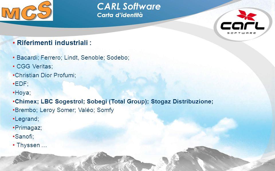 4 CARL Software Programma CARL Source 100% nativo internet.