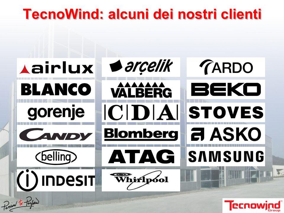 TecnoWind: alcuni dei nostri clienti