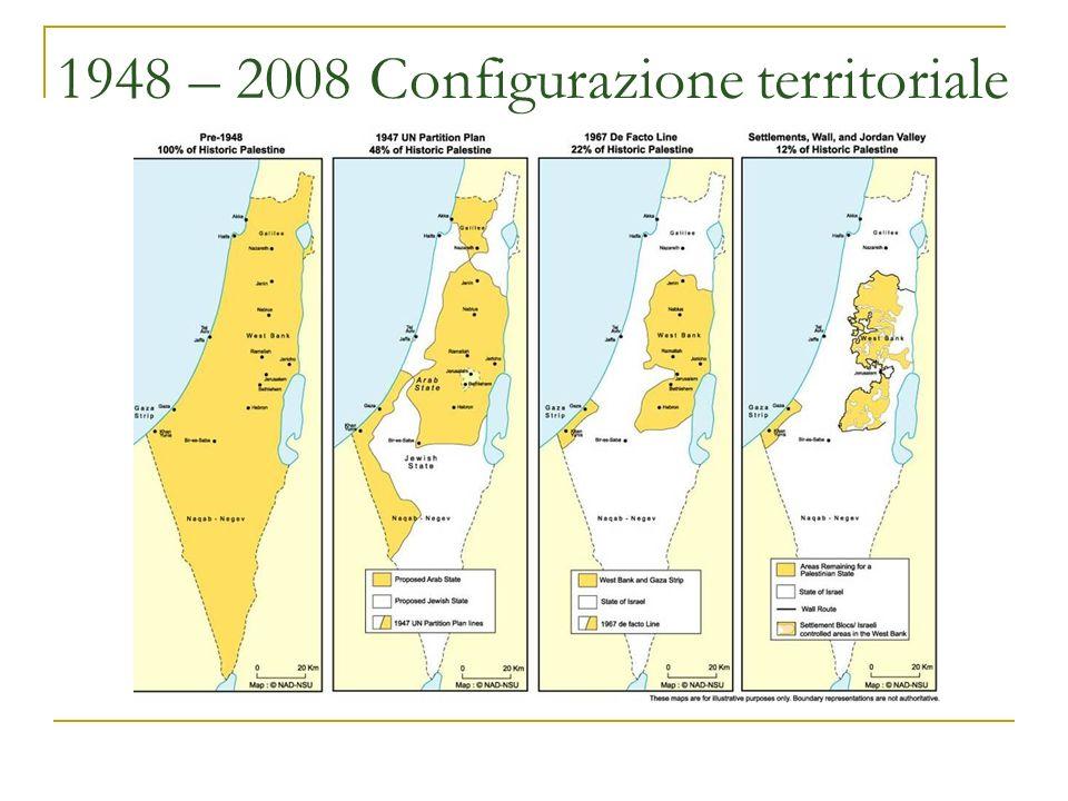 1948 – 2008 Configurazione territoriale