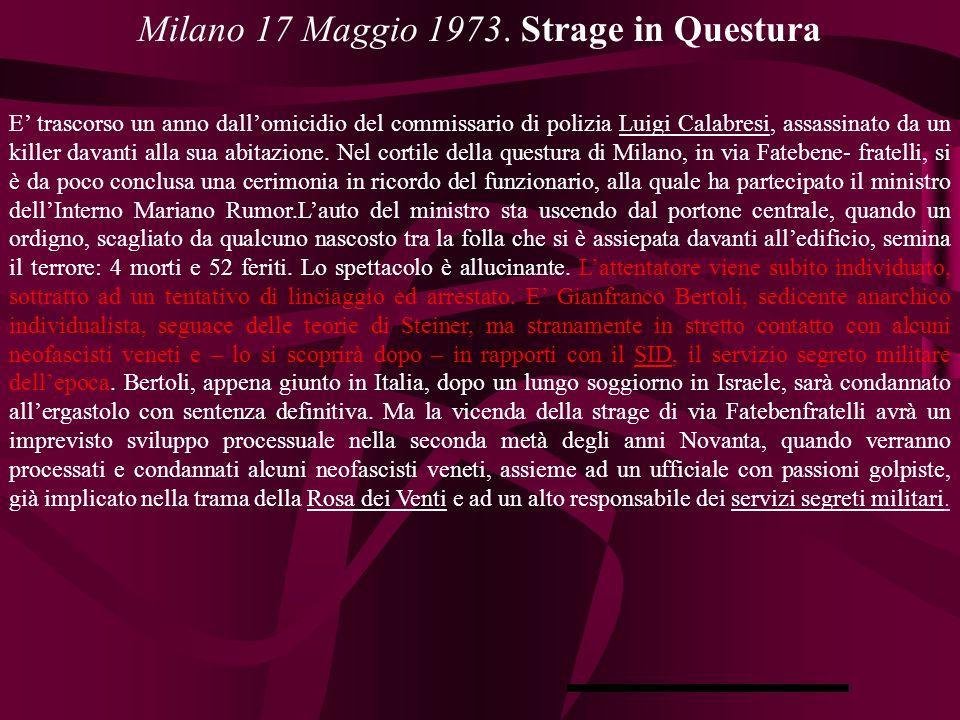 Milano 17 Maggio 1973.