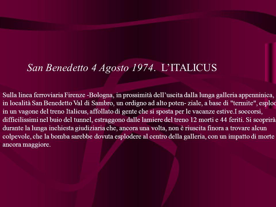 San Benedetto 4 Agosto 1974.