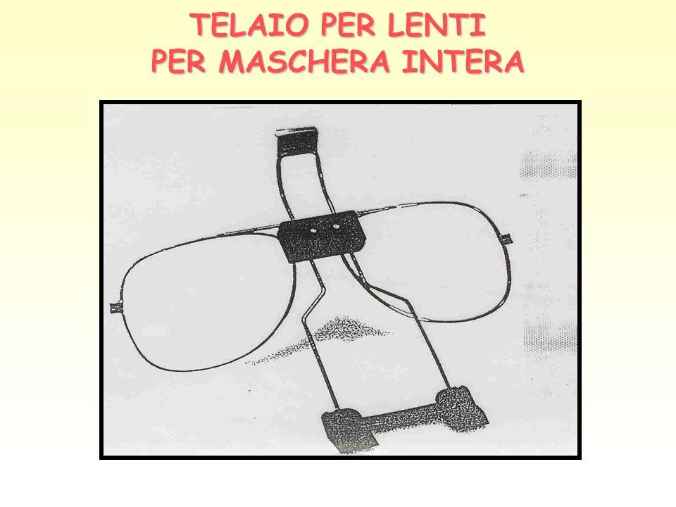 TELAIO PER LENTI PER MASCHERA INTERA