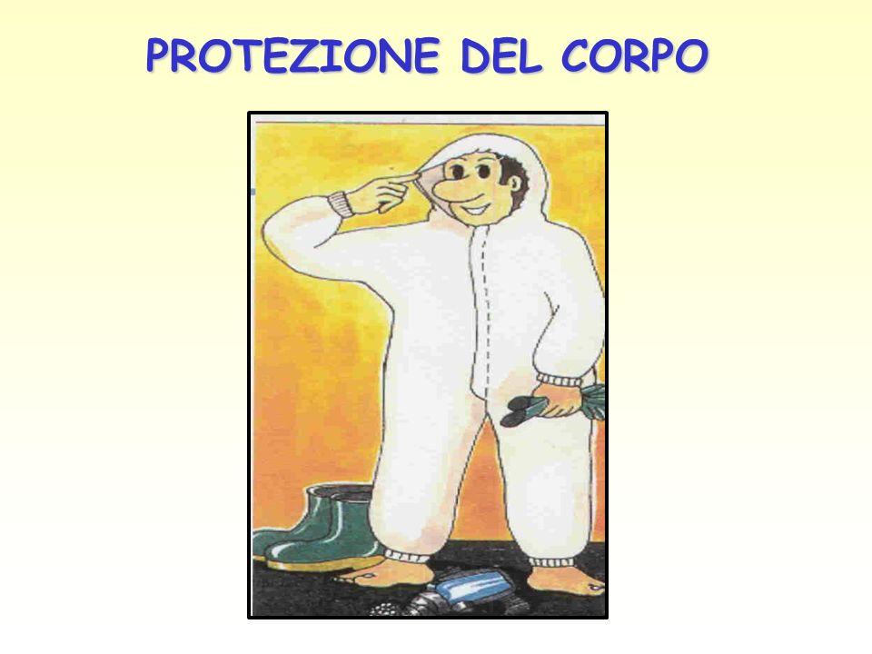 PROTEZIONE DEL CORPO PROTEZIONE DEL CORPO