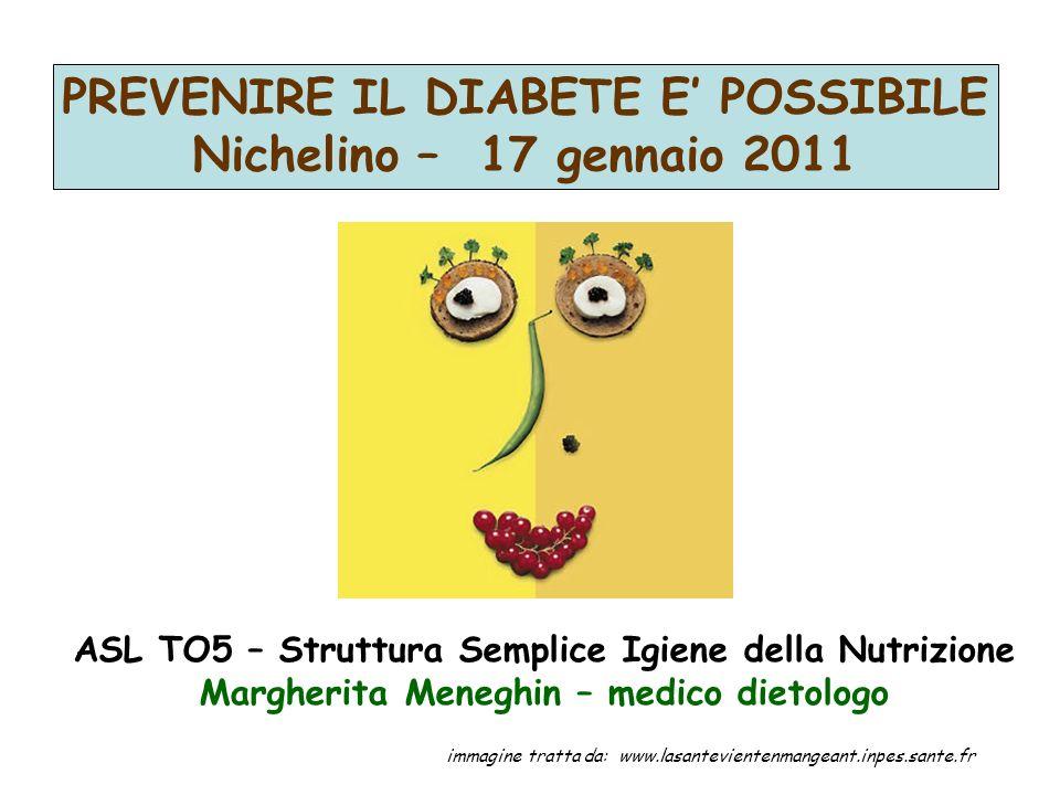 ASL TO5 – Struttura Semplice Igiene della Nutrizione Margherita Meneghin – medico dietologo immagine tratta da: www.lasantevientenmangeant.inpes.sante