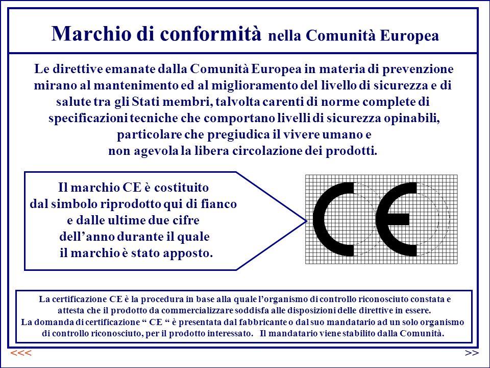 Marchio di conformità nella Comunità Europea Il marchio CE è costituito dal simbolo riprodotto qui di fianco e dalle ultime due cifre dellanno durante il quale il marchio è stato apposto.