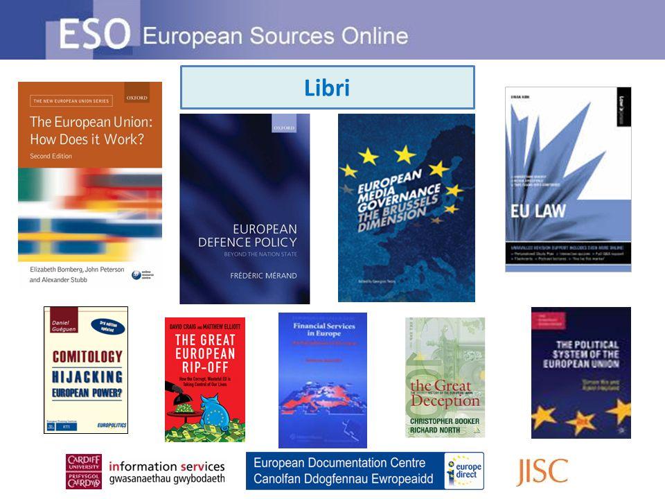 La Ricerca avanzata di ESO ti offre diverse opzioni per raffinare la tua ricerca Puoi specificare la relazione tra i termini della tua ricerca Aggiungi parole chiave o frasi Inoltre puoi ricercare per titolo, autore, titolo di serie, ISBN..