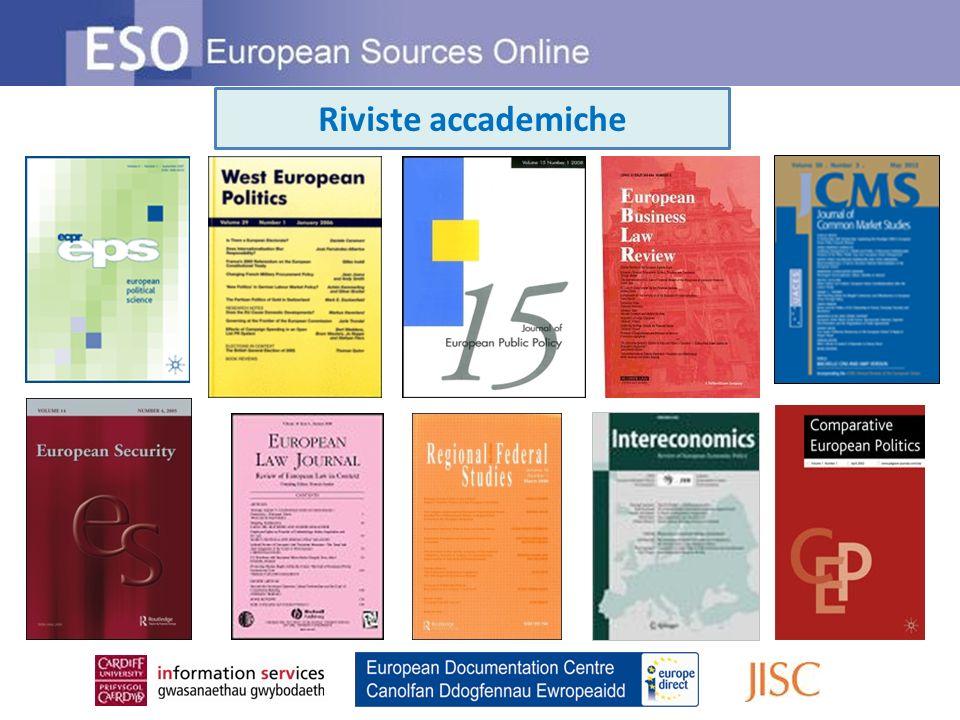 Riviste accademiche