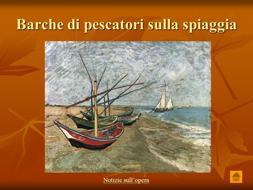 Barche di pescatori sulla spiaggia Notizie sullopera