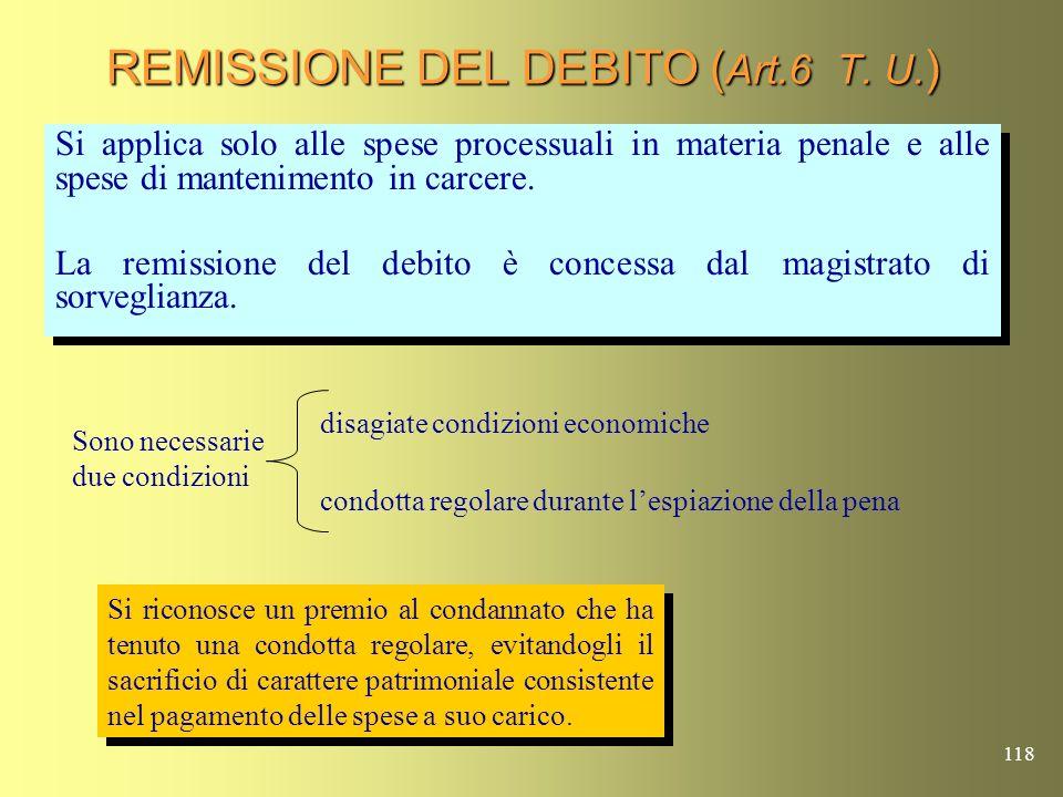 117 ANNULLAMENTO PER INSUSSISTENZA ( Art. 220 T.U. ) Spese processuali e di mantenimento di importo minimo (attualmente 16,53 euro). Disposizione vali