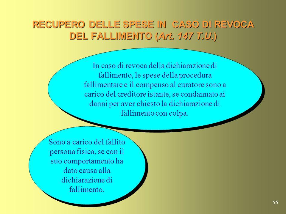 54 RECUPERO SPESE NEI PROCESSI DI INTERDIZIONE O INABILITAZIONE AD ISTANZA DEL P.M. (Art.145 T.U.) Nel processo di interdizione e di inabilitazione pr