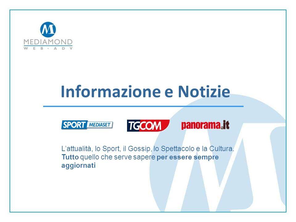 Informazione e Notizie Lattualità, lo Sport, il Gossip, lo Spettacolo e la Cultura.