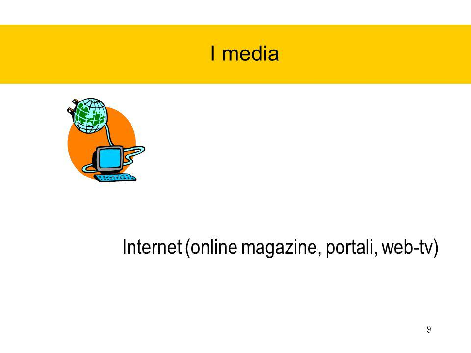 9 I media Internet (online magazine, portali, web-tv)