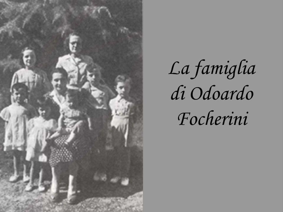 La famiglia di Odoardo Focherini