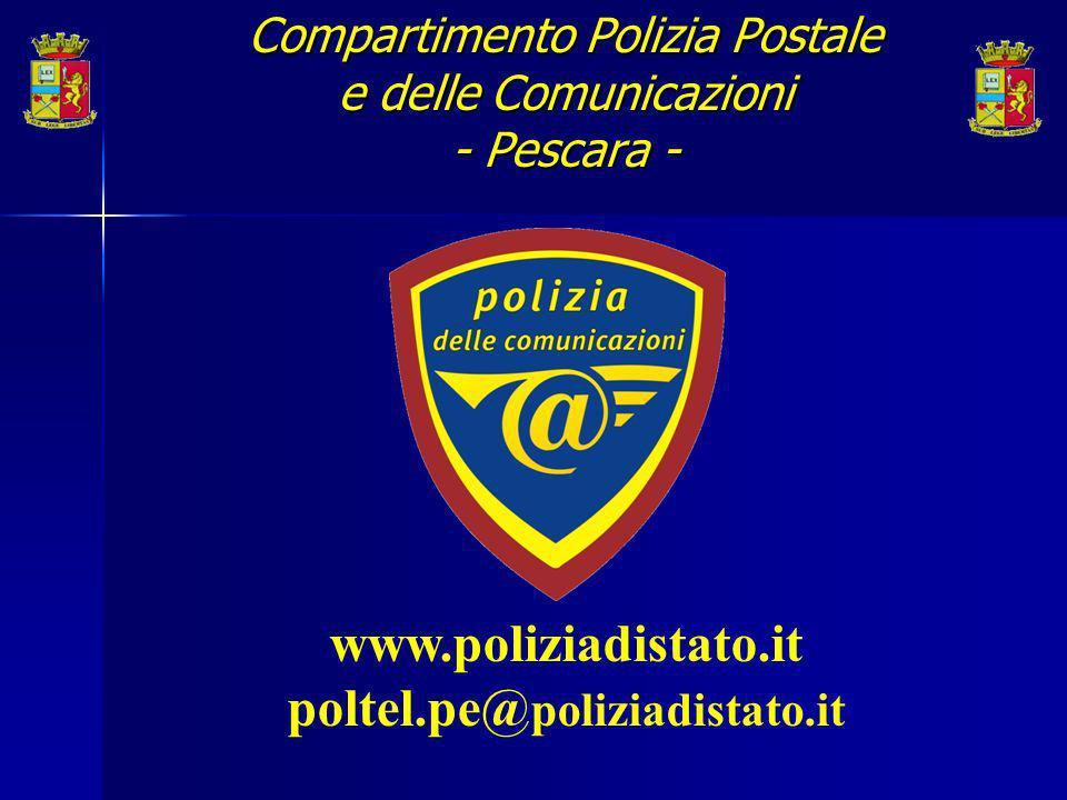 www.poliziadistato.it poltel.pe@ poliziadistato.it Compartimento Polizia Postale e delle Comunicazioni - Pescara -