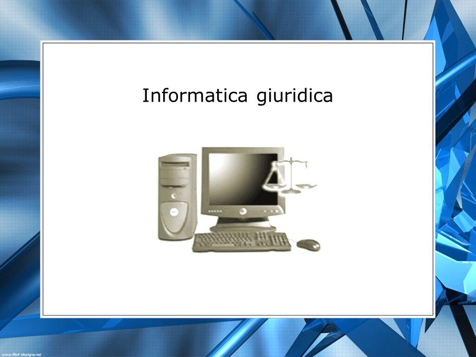 Informatica giuridica