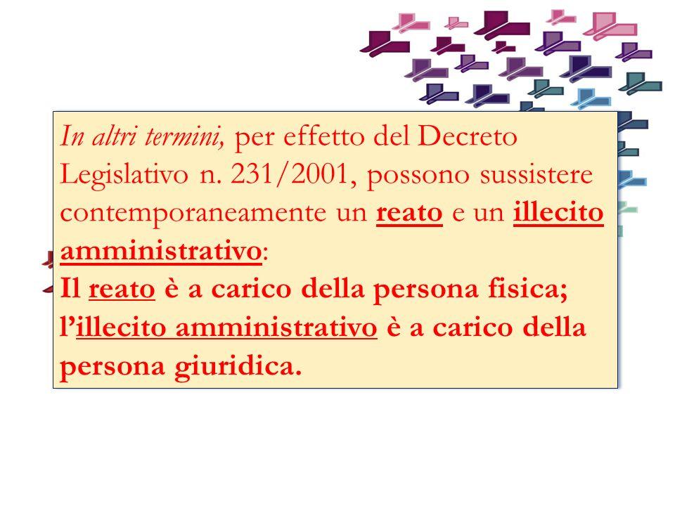 In altri termini, per effetto del Decreto Legislativo n.
