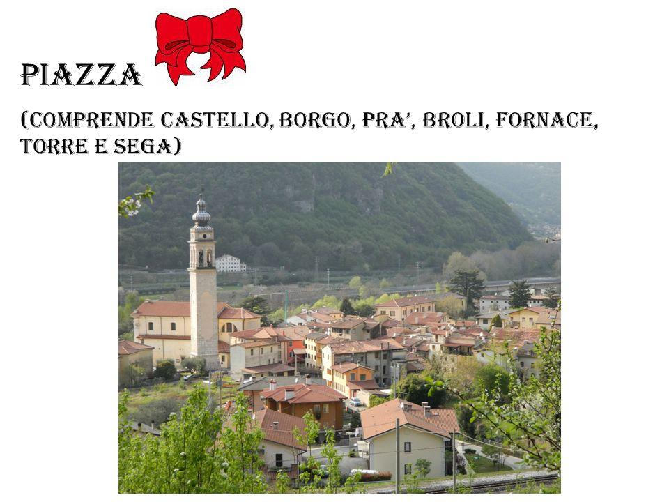 Piazza (comprende castello, borgo, PRA, Broli, Fornace, Torre e sega)