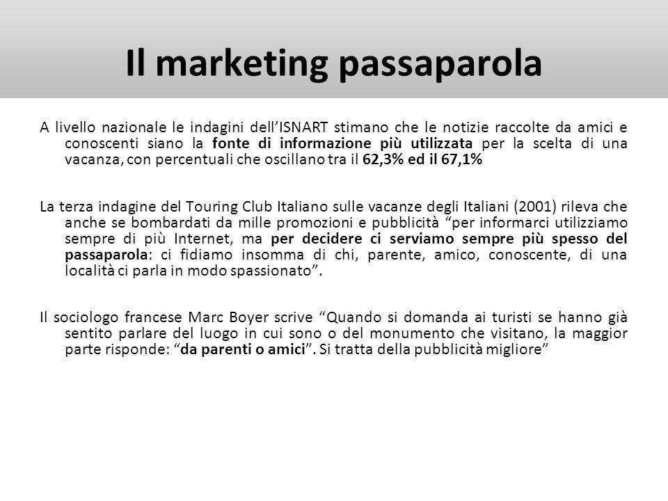 WEB E TURISMO Glossario Social Network Traduzione letterale: rete sociale.