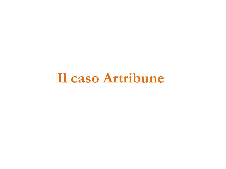 Il caso Artribune