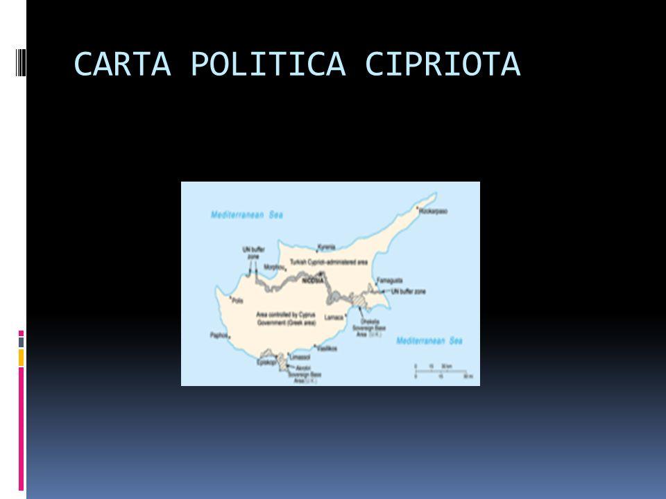 CARTA POLITICA CIPRIOTA