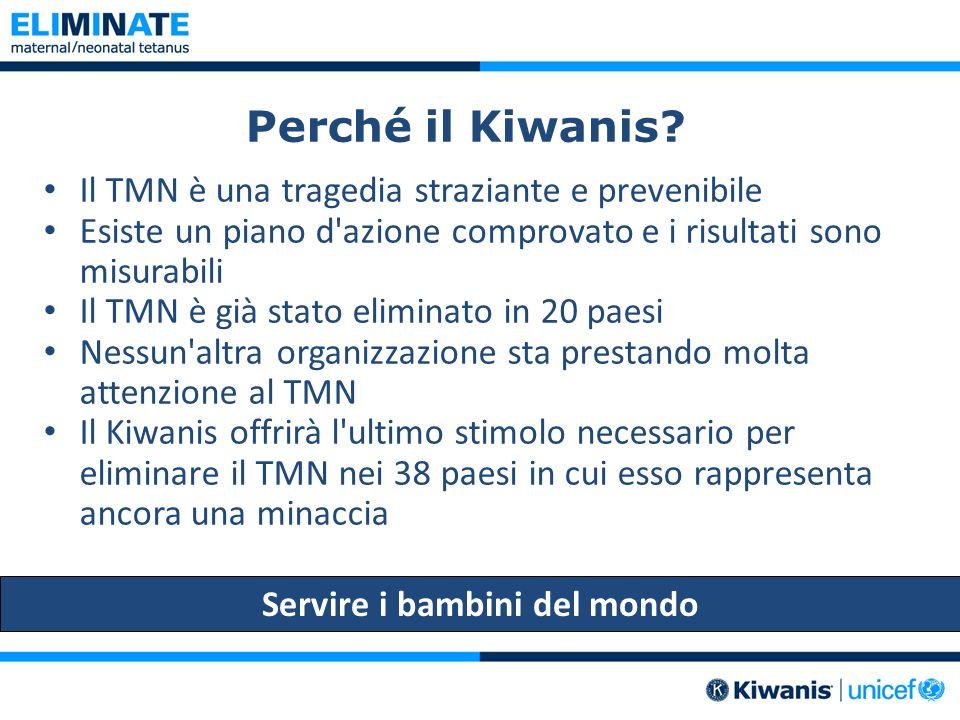 Perché il Kiwanis.