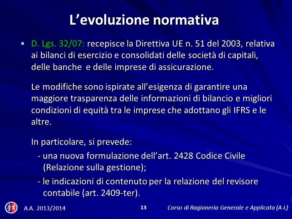 D.Lgs. 32/07: recepisce la Direttiva UE n.