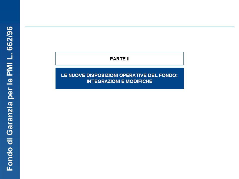Fondo di Garanzia per le PMI L. 662/96 16