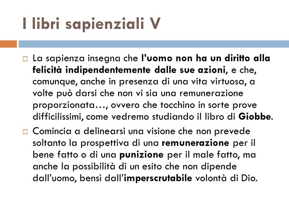 La falsa sapienza di oggi VIII Sapienza invece è sapida scientia (scienza saporita, gustosa).