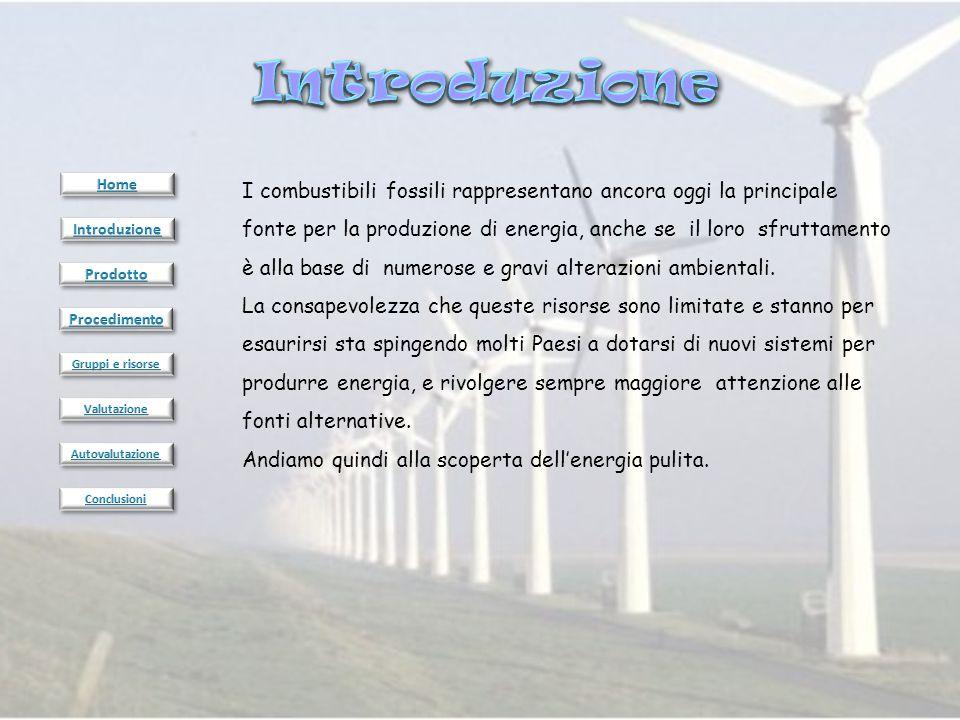 1.Ogni gruppo dovrà scrivere un testo corredandolo di fotografie, contenente le notizie sulla fonte energetica oggetto della ricerca e lo schema di sfruttamento.