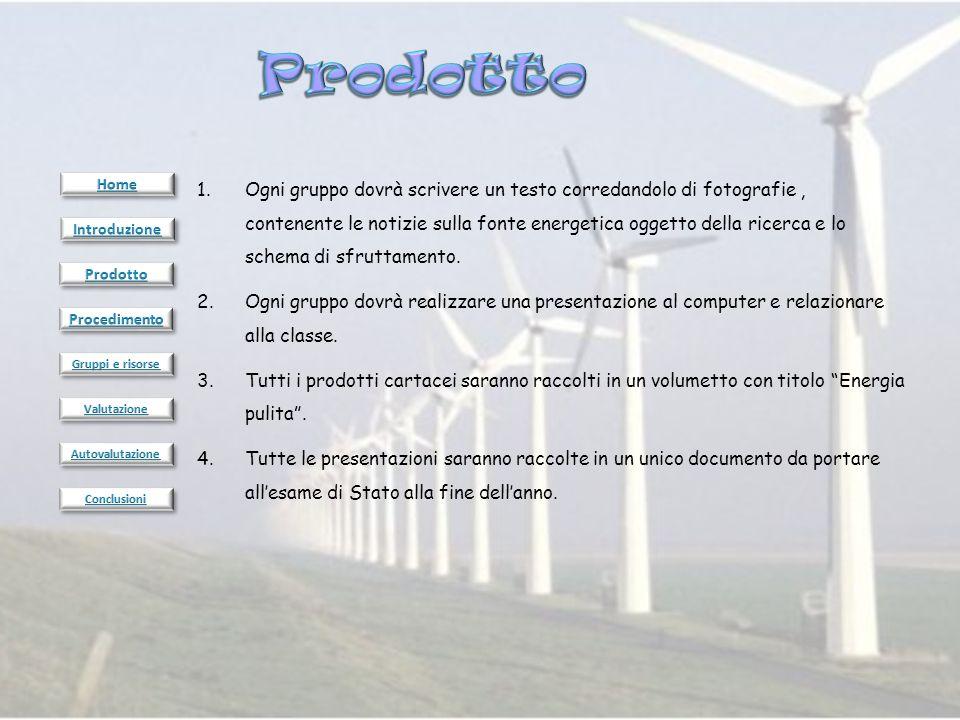 Fase 1: Consultare la pagina Risorse e, collegandosi ad Internet, raccogliere le informazioni necessarie.